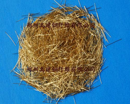 型钢微丝平直纤维设备美国吉立安采样镀铜图片