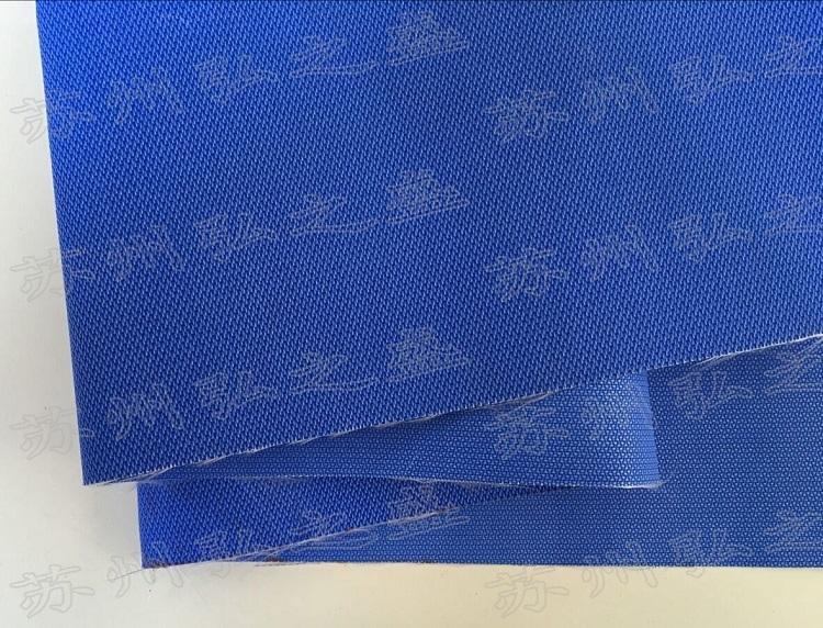 蓝色纳米防火帆布 空调专用纳米软连接布