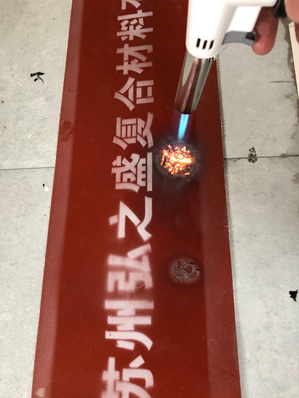 钢轨道岔打磨车防火帘 陶瓷纤维硅胶合金板
