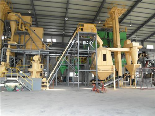 颗粒木质纤维生产线